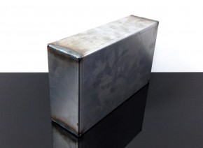 DIY BATTERYBOX Electronic Box made of steel 245x145x70mm universal