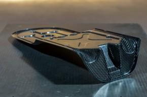 """SITZBANKGRUNDPLATTE aus Carbon, f. Heckrahmen """"Trusty Truss"""" von BHCKRT, f. BMW 2-Ventiler"""