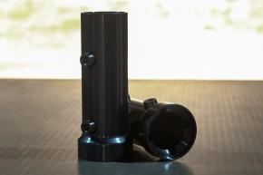 """COVER for inner fork tube, """"Shrewd Shroud"""" by BHCKRT, f. head light """"SW-SHB"""", black"""