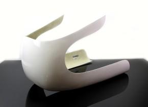 Imola-VERKLEIDUNG komplett mit Scheibe, kleinere Version. Mit Materialgutachten.