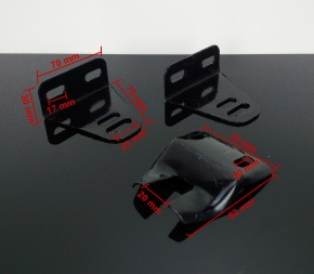 Seatplate brackets universal