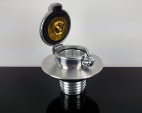 """2"""" Monza-TANKDECKEL mit Adapter für BMW R-Modelle, Aluminium"""