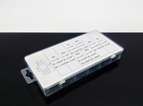 rubber grommet assortment 180 pc. - inch
