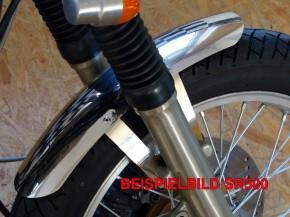 Cafe-Racer FENDER Kawasaki W 650/800 W650 W800 Stainless Steel