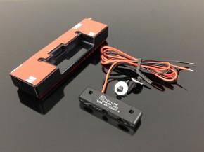RÜCKSTRAHLER mit integrierter LED-Kennzeichenbeleuchtung