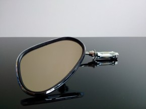 Classic bar end mirror, left side