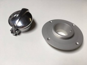"2,5"" MONZA KIT, Tankdeckel mit Adapter, BMW K-Modelle"
