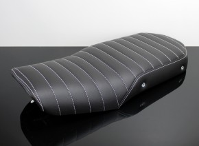 SITZBANK-Set im Cafe-Racer- oder Scrambler-Stil für BMW K75 K100 schwarz