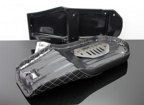 SITZBANK-Set SCRAMBLER für BMW K75 K100 schwarz