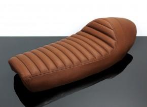 Cafe-Racer SEAT, universal, vintage-brown