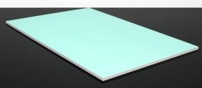 PVC BASTELPLATTE für Startnummerntafel 33x22x0,5cm
