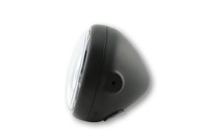 HIGHSIDER LED headlamp PECOS TYPE 5, black, side mount