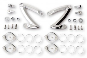 HIGHSIDER CNC Alu headlamp bracket set