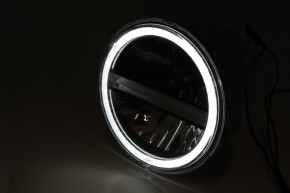 HIGHSIDER LED main headlight insert TYP 6 with DRL, round, 5 3/4 inch