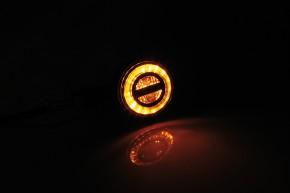 HIGHSIDER LED Blinker ROCKET BULLET, schwarz