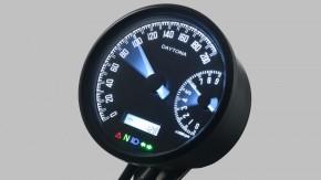 DAYTONA VELONA W, digital speedometer and rev counter Ø80mm