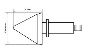 SHIN YO Handlebar indicator BULLS-EYE