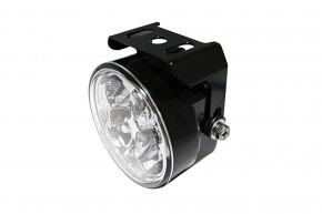 HIGHSIDER LED-DRL w. 4 LEDs, round, E-mark