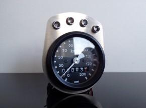 Bracket for 4 indicator lights fitting 48mm instruments