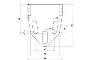 HIGHSIDER License Plate Holder Universal Type 5