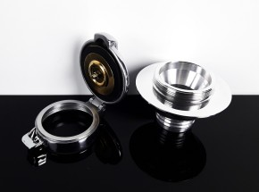 "2,5"" MONZA fuel cap with adapter for BMW"