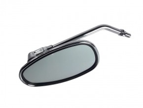Classical oval MIRROR, chrome-plated, M10 right hand thread, second quality