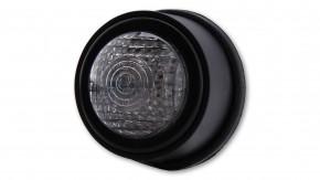 LAGERRÄUMUNG: SHIN YO LED-Rücklicht OLD SCHOOL TYP2, schwarz, transparentes Glas, E-gepr.