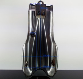 Cafe-Racer TANK, Benelli-Style, Stahl