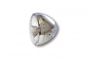 SHIN YO 7 Zoll Scheinwerfer RENO 2, chrom, klares Glas
