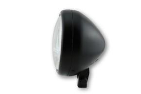 SHIN YO 5 3/4 Zoll Hauptscheinwerfer PECOS, schwarz matt