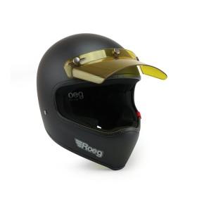ROEG® HELM-SCHIRM Helmschirm gelb-transparent