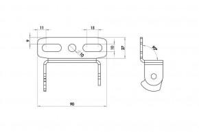 HIGHSIDER License Plate Holder Universal Type 7