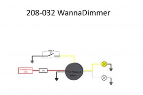 WANNABE Wanna Dimmer Abblendrelais 6-14 V