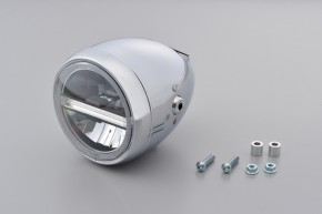 LED-Scheinwerfer 5 3/4 Zoll NEOVINTAGE, chrom v. DAYTONA