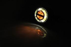 2 HIGHSIDER LED indicator/FPL ROCKET BULLET, black
