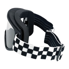 BILTWELL MOTO 2.0 Checkers goggles for spectacle wearer
