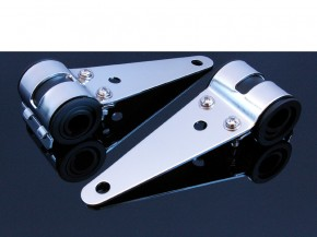 LAMPENHALTER/he​adlight brackets, 31-36 mm, chrom