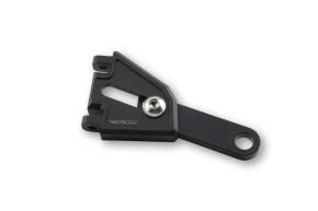 HIGHSIDER CNC Alu Lampenhalter EXTEND, schwarz, Verstellbereich 54 mm
