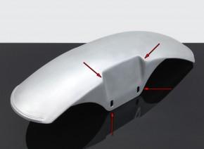 """B-Ware: KOTFLÜGEL vorne """"One-for-the-Road"""" - Onroad 3 von BHCKRT, Aluminium, f. BMW 2-Ventiler"""