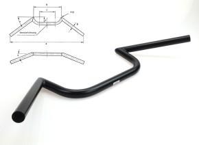 Cafe-Racer M-LENKER FEHLING Breite 610mm, schwarz, hoch