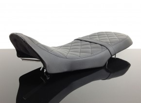 SEAT for BMW K75 K100 Scrambler Cafè Racer black with Diamond Pattern