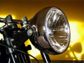 Classic head light / headlamp with clear screen