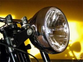 KLARGLAS-Motorrad-SCHEINWERFER