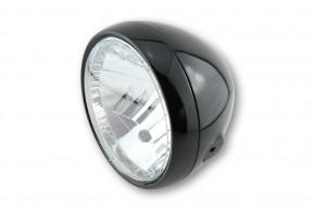 SHIN YO 6 1/2 Zoll Hauptscheinwerfer, schwarz glänzend