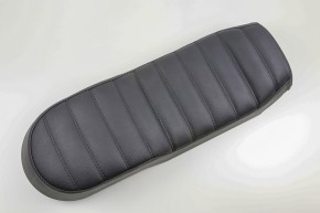 SCRAMBLER SEAT black or brown for  Rear Frame HR-PKU, BMW R-Models w. Paralever