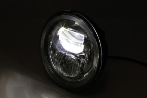 HIGHSIDER LED main headlight insert TYP 7, black reflector