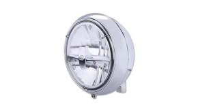 HIGHSIDER LED headlamp YUMA 2 TYPE 3, chrome, Bottom mount