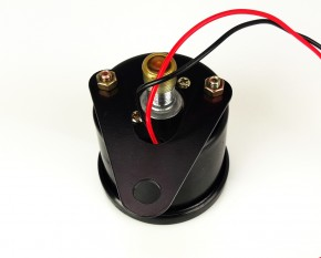 Speedometer 60mm, 180km/h, black, K 1.4