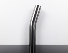 AUSPUFFROHR, Rohrbogen f. Krümmer, 15 Grad, ca. 40mm