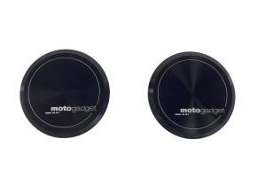 "2 Aluminium-ENDKAPPEN ""m.grip cap"" v. MOTOGADGET, für ""m.grip""-GRIFFE, in schwarz eloxiert"